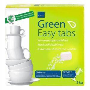 Masinnõudepesuaine tabletid 1,8kg Green Easy Tab